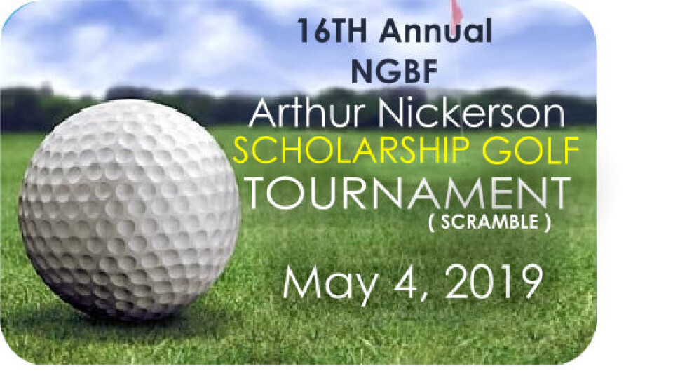 16th Annual Arthur Nickerson/NGBF Scholarship Golf Tournament