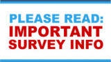 Important information: Re-Entry Survey